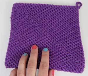 Knit Hot Pad Pattern : EASY KNITTING PATTERN FOR POT HOLDER   KNITTING PATTERN
