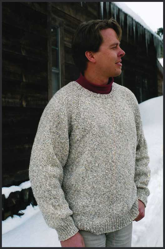 efd1a5dd3 Neck Down Pullover for Men - Knitting Pure and Simple - Neck down Pullover